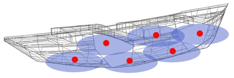 Sonihull SH-2 - Sonihull duo, ultraljudsskydd (2 givare) mot beväxning, för båtar under 17 m över 17m monteras flera SH-2