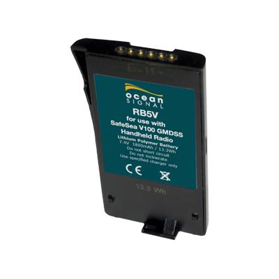 Ocean Signal 721S-00615 - RB5V Uppladdningsbart Lithium Polymer batteripack för V100