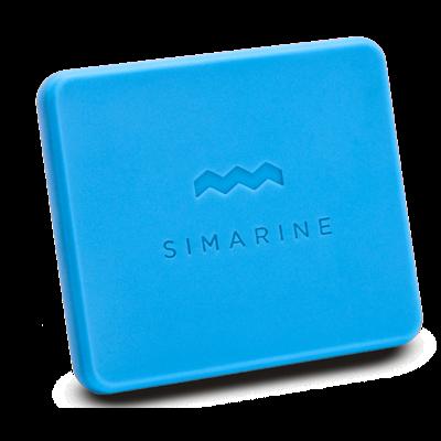 SIMARINE CO01 - Gummiskydd till PICO utanpåliggande. Blått.