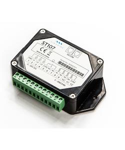 SIMARINE T001 - ST107 tankmodul. Mäter 3x spänning (0-35V) och 4x tank eller temperatur, för PICO display