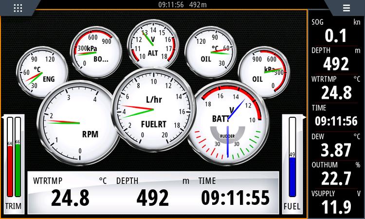 Yacht Devices YDEG-04N - Motordata-gateway, J1939 till NMEA 2000. OBS. Inkl 1 st Deutch hanplugg. (Honplugg: DEU_F-P)