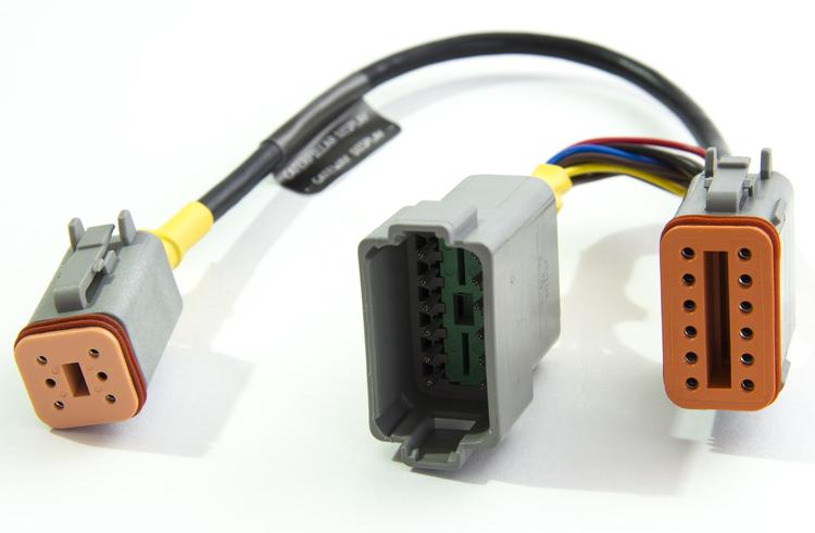 Yacht Devices Cater-Disp12 - 12-pin Caterpillar adapterkabel till YDEG-04