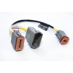 Yacht Devices EVC-A-EC12 - EVC-A EC 12-pin X5:MULTILINK adapterkabel för YDEG-04