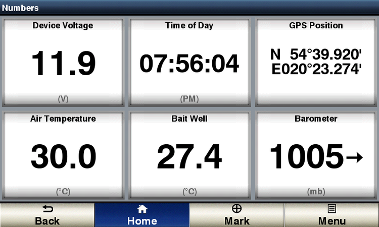 Yacht Devices YDBC-05N - Digital barometer med NMEA 2000.