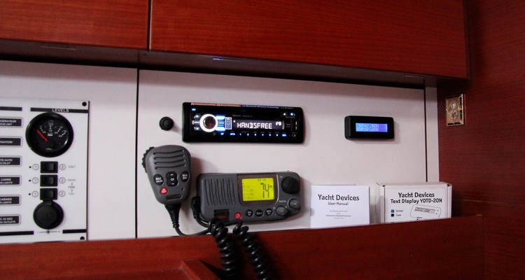 Yacht Devices YDTD-20N - NMEA 2000 textdisplay