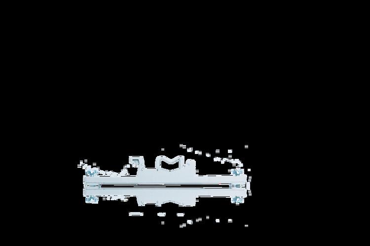 Actisense DIN-KIT-2 - Kit med 1 clip & 2 skruvar. För USG-2 på en top hat (EN50022) eller G sektion (EN50035)