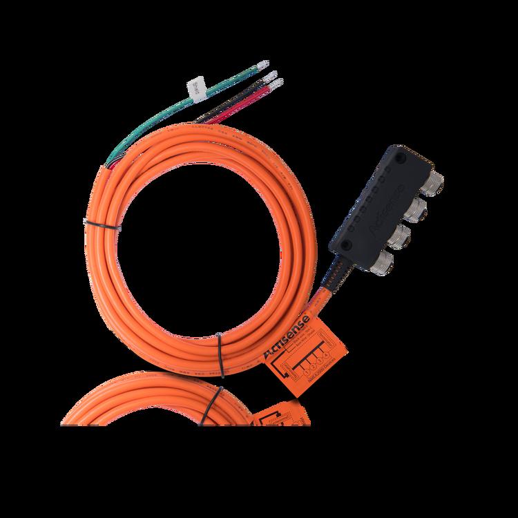 Actisense A2K-SBN-1 - NMEA 2000 Small N2K Network (4-vägs t-kontakt, inbyggda terminatorer, 3 m strömkabel)