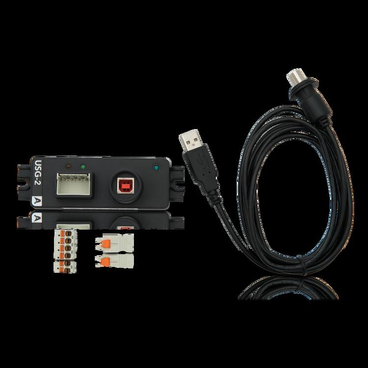 Actisense USG-2 - Isolerad USB-seriell gateway för användning med NMEA 0183, RS422 och RS232