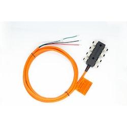 Actisense A2K-SBN-2 - NMEA 2000 Small N2K Network (8-vägs t-kontakt, inbyggda terminatorer, 3 m strömkabel)