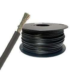 Förtent kabel 50 mm2 svart, (25 meter på bobin). H01N2-D 50 mm2