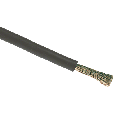 Förtent kabel 25 mm2 svart, (50 meter på ring). H01N2-D 25 mm2
