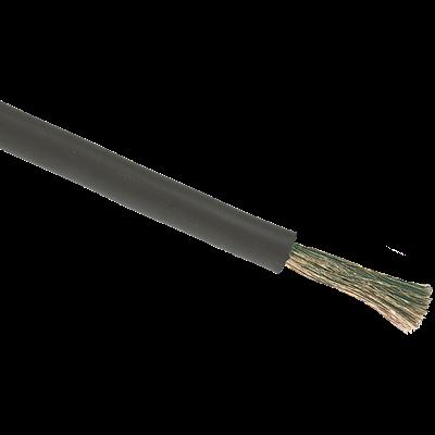 Förtent kabel 120 mm2 svart, (50 meter på ring). H01N2-D 120 mm2