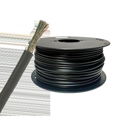 Förtent kabel 120 mm2 svart, (25 meter på bobin). H01N2-D 120 mm2
