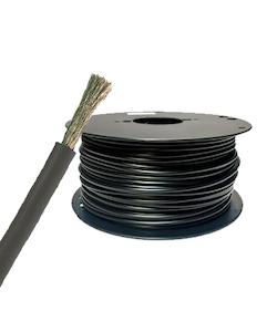 Förtent kabel 16 mm2 svart, (25 meter på bobin). H01N2-D 16 mm2