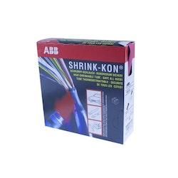 KRYMPSLANG UTAN LIM, 2:1, ID=25.4 mm, RÖD BOX, L=3.3m, TUNN-V (95-120 mm2)