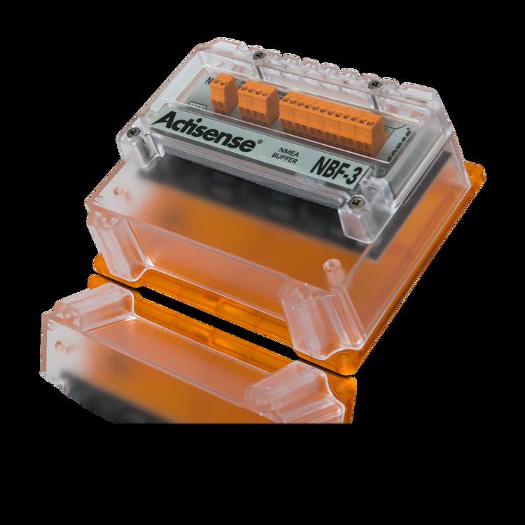 Actisense NBF-3-BAS - NMEA-splitter med 6 ISO-Drive-utgångar.