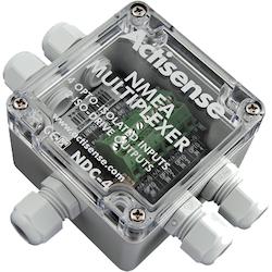 Actisense NDC-4-USB - NMEA multiplexer, 4 ingångar, 2 seriella utgångar. Inkl USB-kabel.
