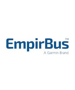 EmpirBus 2065003 - EmpirBus SP12 blank knapptopp med 3 LED-fönster. Utan gravering.