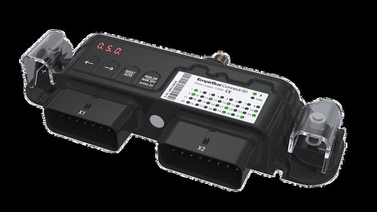 EmpirBus 2110112 - EmpirBus Connect 50, 7/20/CAN/RS/WiFi 7 ingångar, 20 utgångar, CAN, serieport och WiFi. 12 V