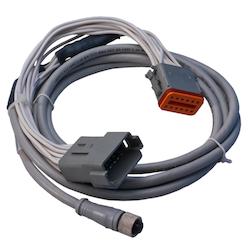 Maretron MCF-2M-D12 - Adapter MICRO hona till Deutsche 12 pin, 2 M-kabel till J2K100