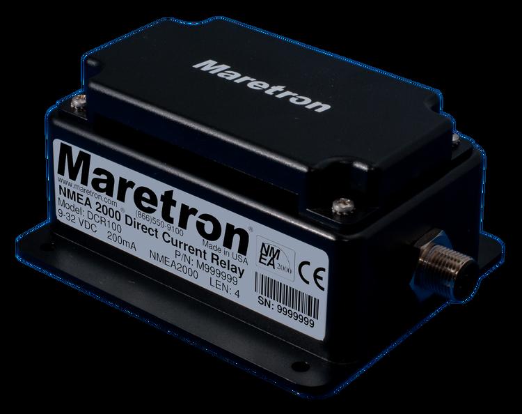 Maretron DCR100-01 - Relämodul för digital switching, 6 reläutgångar NMEA 2000
