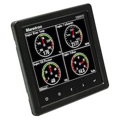 Maretron DSM570-01 - 5,7tum ljusstark NMEA 2000-display med larm