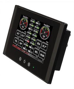 Maretron TSM810C-01 - 8tum Kontroll- och övervakningsskärm för NMEA 2000. Pekskärm. Inkl N2KView
