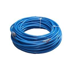 Maretron DF-DB1-25.0 - MID-kabel, blå, för NMEA 2000. Hona + öppen ände, 25 meter
