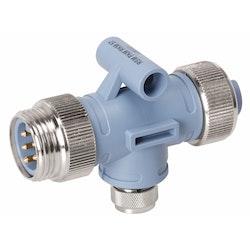 Maretron NM-CF-NF - T-kontakt för MINI stamkabel till MICRO dropkabel