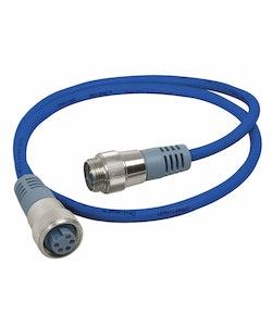 Maretron NM-NB1-NF-00.5 - MINI-kabel för NMEA 2000, 0,5 m Blå, hona - hane