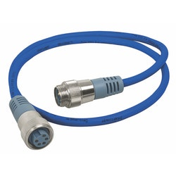 Maretron NM-NB1-NF-06.0 - MINI-kabel för NMEA 2000, 6,0 m Blå, hona - hane