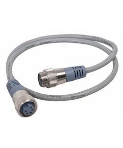 Maretron NM-NG1-NF-08.0 - MINI-kabel för NMEA 2000, 8,0 m Grå, hane - hona