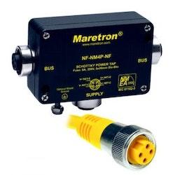 Maretron NF-NM4P-NF - MINI spänningskabel med hona - hona, inkl. säkring