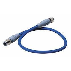 Maretron DM-DB1-DF-00.5 - MID-kabel för NMEA 2000, 0,5 m, Blå, hane - hona