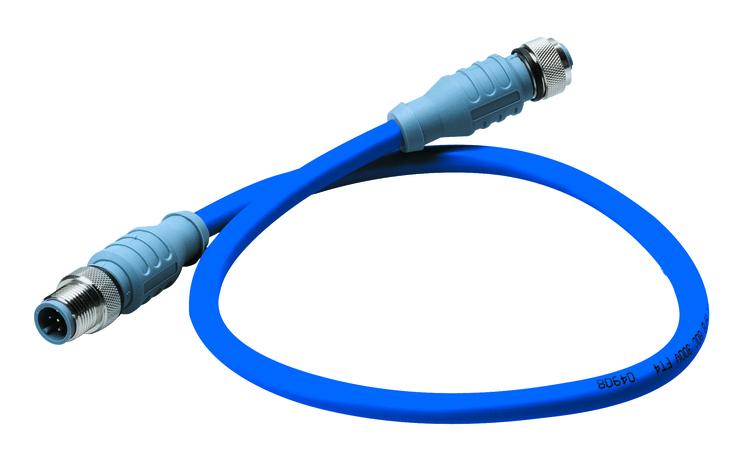 Maretron DM-DB1-DF-01.0 - MID-kabel för NMEA 2000, 1,0 m, blå, hane - hona