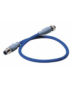 Maretron DM-DB1-DF-02.0 - MID-kabel för NMEA 2000, 2,0 m, blå, hane - hona