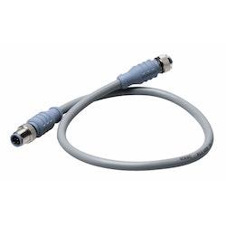 Maretron DM-DG1-DF-01.0 - MID-kabel för NMEA 2000, 1,0 m, grå, hane - hona