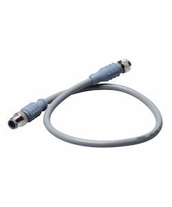 Maretron DM-DG1-DF-02.0 - MID-kabel för NMEA 2000, 2,0 m, grå, hane - hona