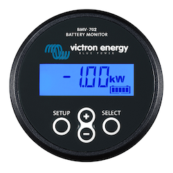 Victron Energy BAM030712200 - BMV-712, batterimonitor svart inklusive 500A shunt, inbyggd Bluetooth