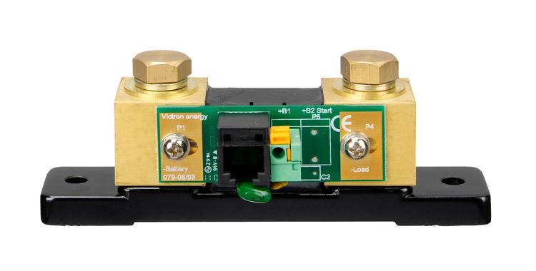 Victron Energy BAM030712200 - BMV-712, batterimonitor svart inklusive 500A shunt, inbyggd Bluetooth