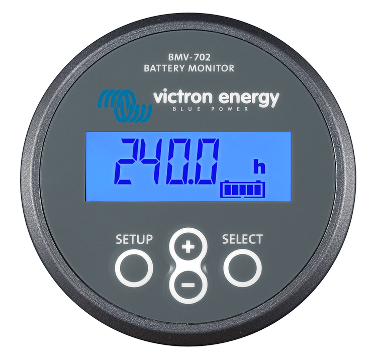 Victron Energy BAM010702000R - BMV-702, batterimonitor inklusive 500A shunt