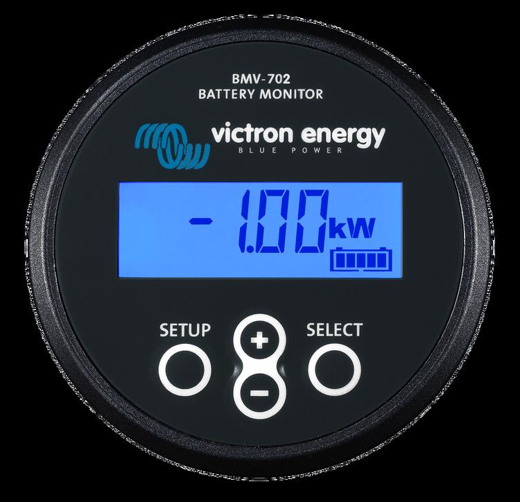 Victron Energy BAM010702200R - BMV-702, batterimonitor svart inklusive 500A shunt