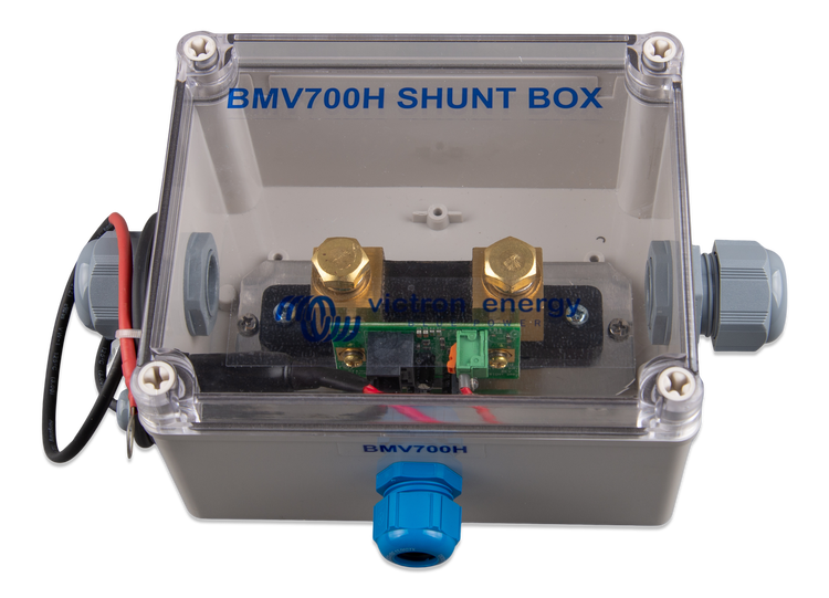 Victron Energy BAM010700100 - BMV-700HS, batterimonitor inklusive 500A shunt