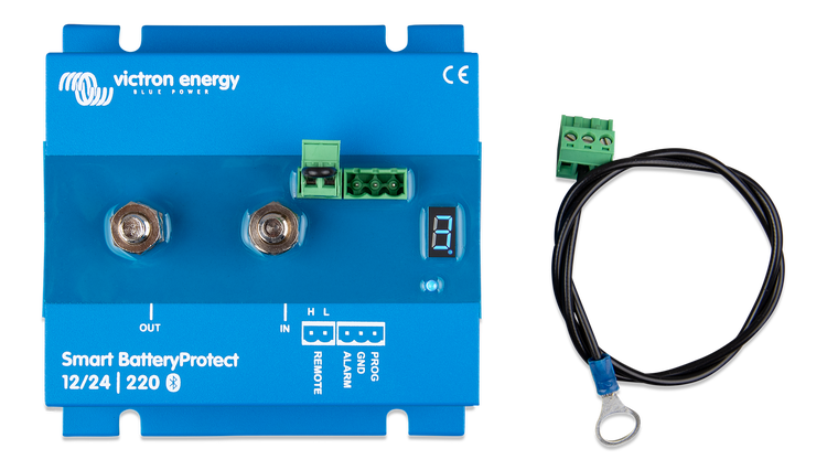 Victron Energy BPR122022000 - Smart Battery Protect 12/24V-220A, Bluetooth