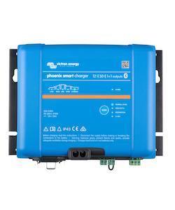 Victron Energy PSC123051085 - Phoenix Smart IP43 Charger 12/30(1+1) 230V, 5-stegsladdare med 1+1 utgångar, Bluetooth, exkl kabel