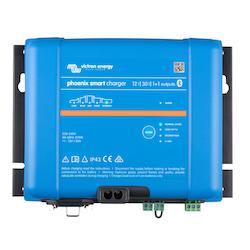 Victron Energy PSC241651085 - Phoenix Smart IP43 Charger 24/16(1+1) 230V, 5-stegsladdare med 1+1 utgångar, Bluetooth, exkl kabel