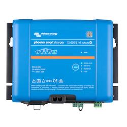 Victron Energy PSC242551085 - Phoenix Smart IP43 Charger 24/25(1+1) 230V, 5-stegsladdare med 1+1 utgångar, Bluetooth, exkl kabel
