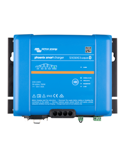 Victron Energy PSC242553085 - Phoenix Smart IP43 Charger 24/25(3) 230V, 5-stegsladdare med 3 utgångar, Bluetooth, exkl kabel