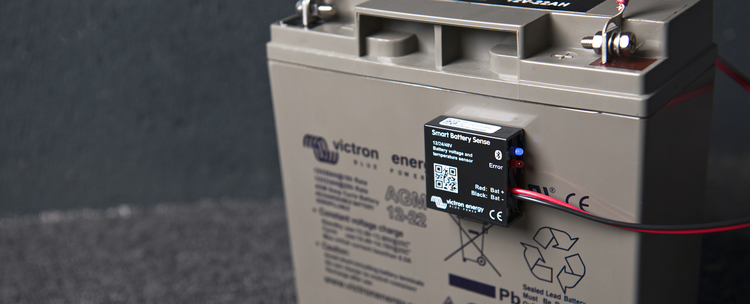 Victron Energy SBS050100200 - Smart Battery Sense. Mäter volt/temp på batterier, ansluts till MPPT-regulatorer med Bluetooth