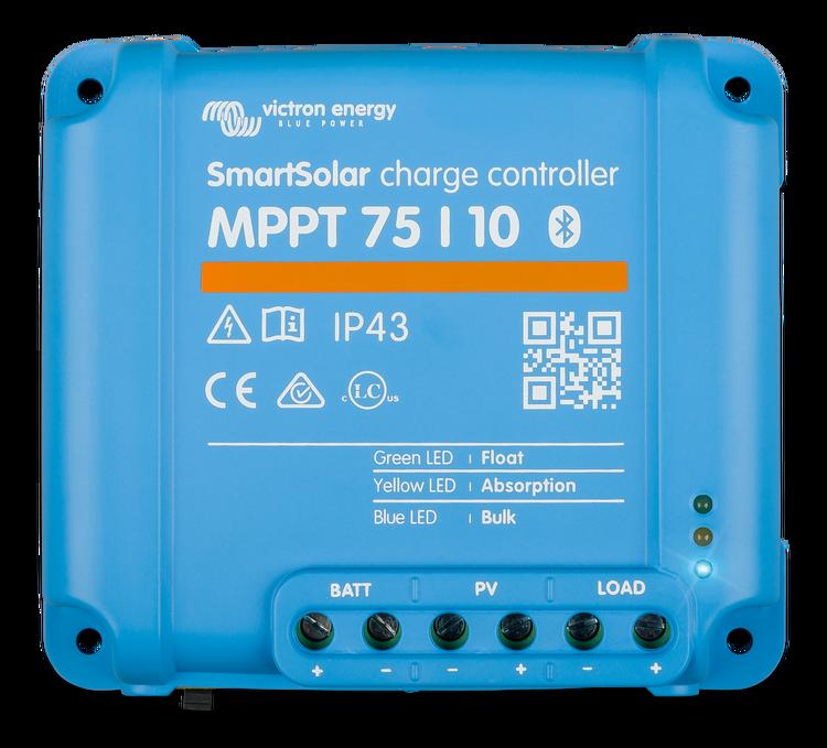 Victron Energy SCC075010060R - SmartSolar MPPT 75/10, solcellsregulator